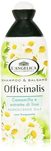 L'Angelica - Shampoo & Balsamo Addolcente 2 In 1, Camomilla E Estratto Di Lino - 250 Ml