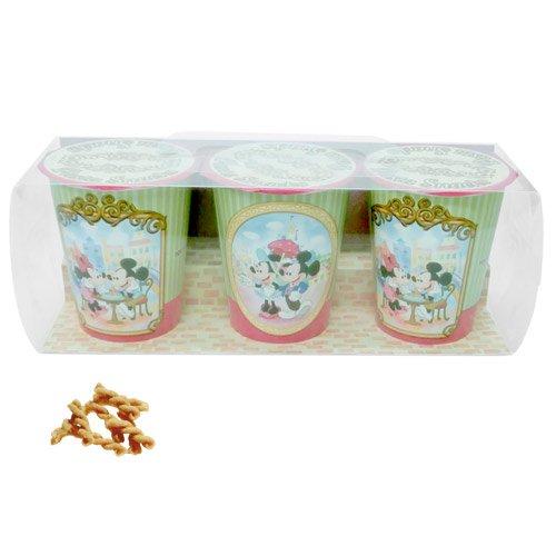 ミッキーマウス ミニーマウス パスタスナック【2】ジェノベーゼ味 お菓子【ディズニーリゾート限定】