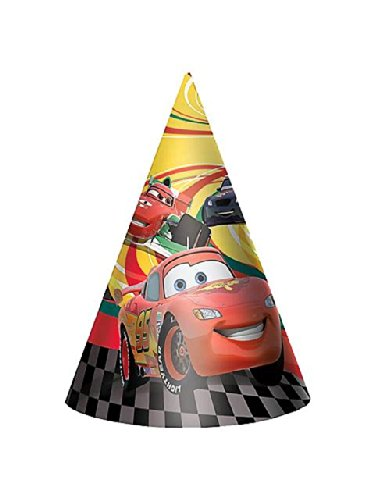 Cars 2 Paty Hats 8 Ct. - 1