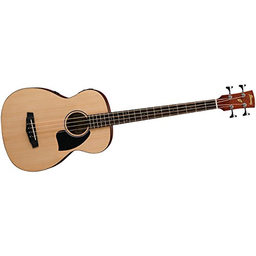 Ibanez Pcbe12 Grand Concert Acoustic-Electric Bass Guitar Open Pore Natural Spruce Top