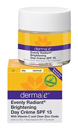 derma e Evenly Radiant Brightening Day Crème SPF 15