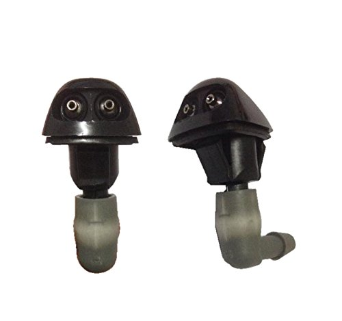 98 - 02 Honda Accord Civic 2X Windshield Washer Nozzle Jet Pair New Genuine Parts 76815-S86-K01 front-429270