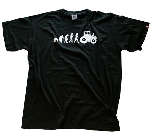 shirtzshop-t-shirt-standard-edition-traktorist-evolution-trecker-traktor-schwarz-xxl-4052718680667