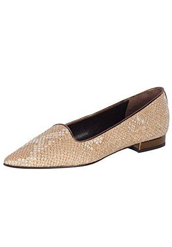 Pantofola Donna in pelle di Patrizia Dini - naturale, Donna, 41 EU