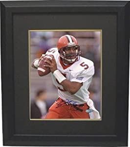 Donovan McNabb signed Syracuse Orange 16x20 Photo Custom Framed