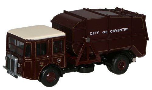 shelvoke-drewry-garbage-truck-dustcart-coventry-1-76th-scale-oxford-diecast-by-oxford-commercials-by