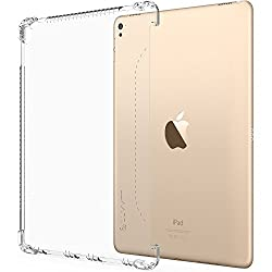 iPad Pro 9.7 Case, LUVVITT CLEAR GRIP Smart Cover Compatible Case for Apple iPad Air 3 / iPad Pro 9.7 inch - Clear