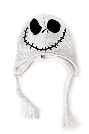 Jack Skellington -- The Nightmare Before Chrismas Knit Peruvian Hat
