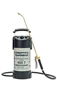 Gloria Drucksprüher Hochleistungssprühgerät Stahl 5L Ölfest 405TProfi, grau  GartenÜberprüfung und Beschreibung