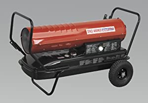 Sealey AB1758 Space Warmer Paraffin Kerosene and Diesel Heater with Wheels       Customer review