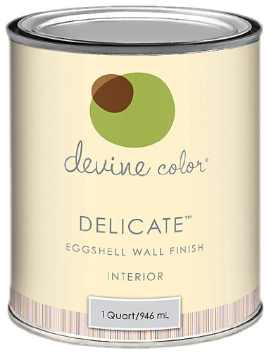 Devine Reflection, Ocean Tide Pools Collection, Devine Color Interior Paint, Delicate Eggshell, 1-Quart
