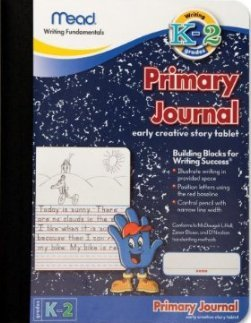 Mead MEA09956 Primary Journal K-2nd Grade - 1