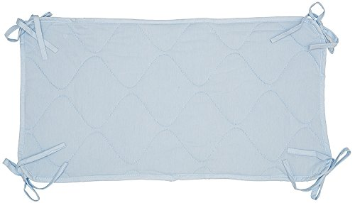 "Abstract Quilted Portable Crib Bib Sheet Saver 24.5"" X 13"" (2 Pack, Blue) - 1"