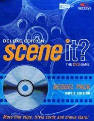 Scene it Deluxe Sequel DVD Movie Trivia Game