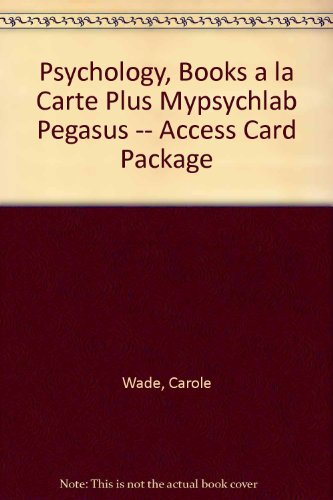 psychology-books-a-la-carte-plus-mypsychlab-pegasus-access-card-package