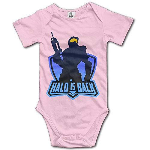 [UANLA HaloSeires Unisex Infant Climbing Clothes Bodysuits Romper] (Master Chief Suit For Sale)