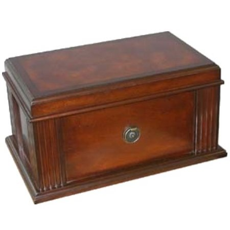 Parisian Vintage Antique Look Cigar Humidor 100 Capacity (Vintage Humidor compare prices)