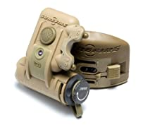 SureFire HL1-A Helmet Light with multiple low-signature spectrums of light and ratchet mount, Tan