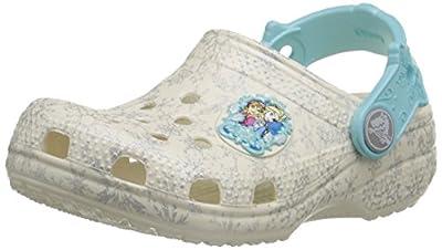crocs Girls' Classic Frozen Clog