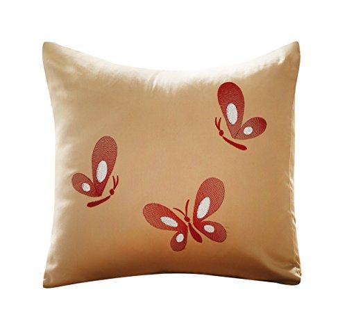 light-brown-decorative-pillow-with-oriental-butterfly-design-16x16-100-cotton-sateen-orient-sense