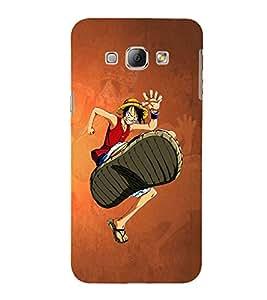 EPICCASE The Big Foot Mobile Back Case Cover For Samsung Galaxy A8 (Designer Case)