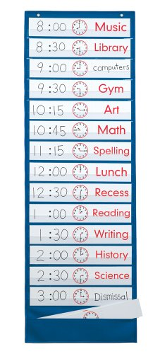 Smethport Scheduling Pocket Chart (743) - 1