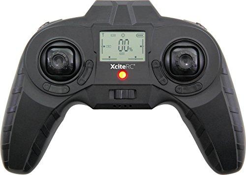 XciteRC-15006000-Quadrocopter-oder-Drohne-Rocket-125-3D-4-Kanal-RTF-mit-2-MP-Kamera