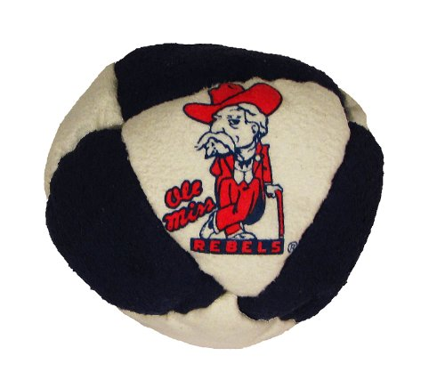 Hacky Sack - College Logo 8 Panelled Mississippi Design - 1