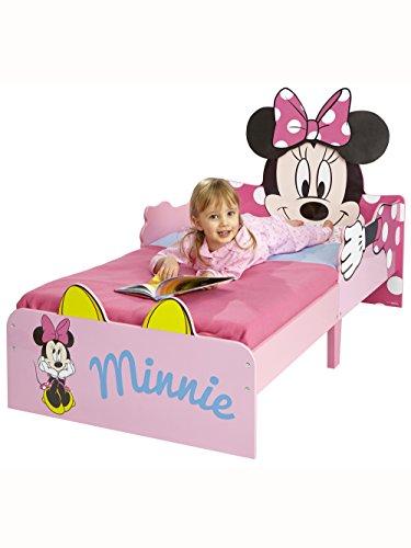 Minnie Mouse SnuggleTime Toddler Bed + Matelas Entièrement Suspendue