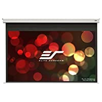 Elite Screens Evanesce B Series  100-inch 4:3  8-inch Drop  In-Ceiling Electric Projection Projector Screen  EB100VW2-E8<br />