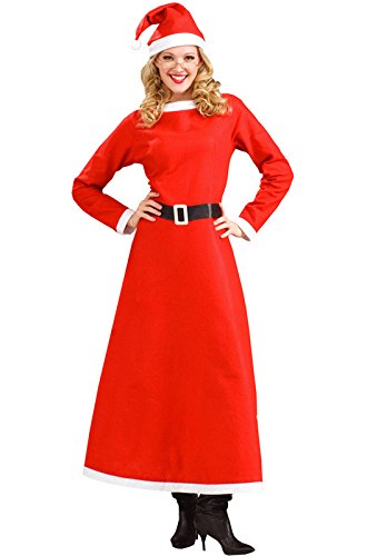 Forum Novelties Women's Simply Mrs. Santa Costume