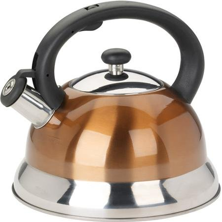 Mainstays 2.5L Tea Kettle, Copper (Tea Kettles compare prices)