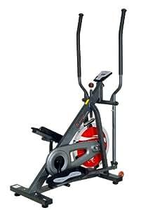 Sunny Flywheel Elliptical Trainer Grey