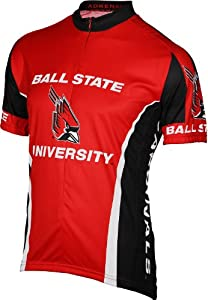 NCAA Ball State Cardinals Cycling Jersey by Adrenaline Promotions