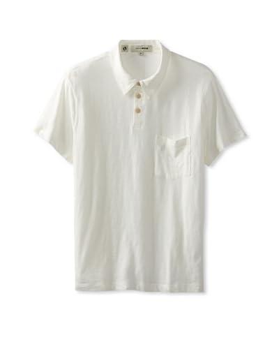 Hang Ten Gold Men's Main Polo  [White]