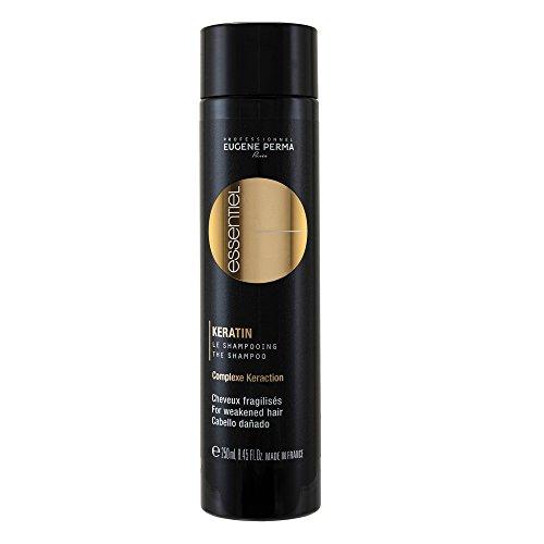 EUGENE PERMA professionale Shampoo per Capelli indeboliti cheratina Essential 250 ml