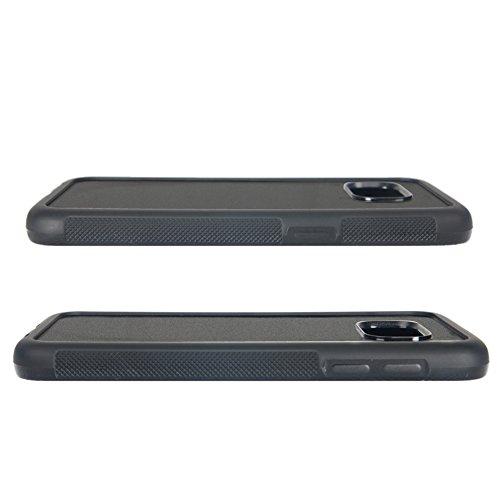 Samsung Galaxy S7 Case, Onelee Customized Batman Logo [Anti Slip] Black TPU and PC Samsung Galaxy S7 Case, [Drop Protection] Batman Galaxy S7 Case at Gotham City Store