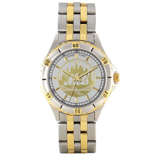 Game Time Mlb Men's Mt-nym General Manager Series New York Mets Watch