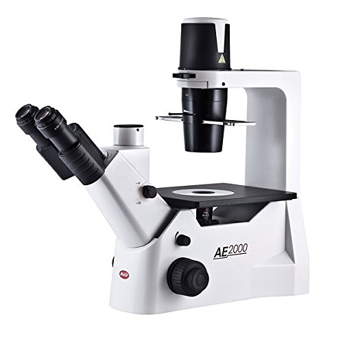 Motic Inverted Microscope, Trinocular Head