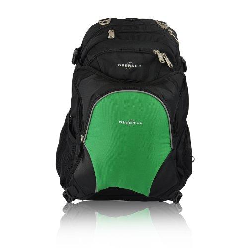 obersee bern diaper bag backpack with detachable cooler. Black Bedroom Furniture Sets. Home Design Ideas