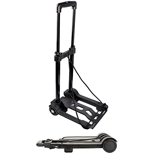 vivoac-lightweight-folding-luggage-trolley-telescopic-frame-light-weight-carry-on-cabin-light-weight