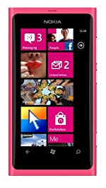 Nokia Lumia 800 16GB Unlocked GSM Windows Smartphone - Pink / Magneta