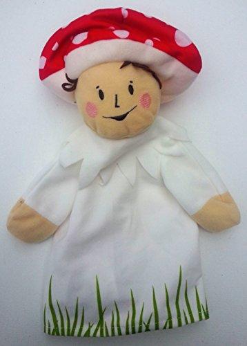 Ikea Boy Mushroom Hand Puppet - 1