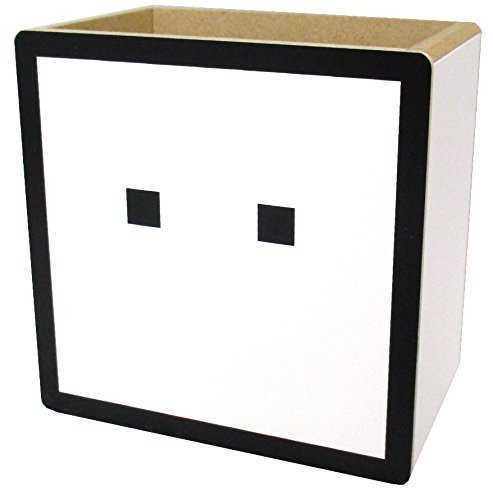 ハコボーイ!  キュービィ 木製小物入れ   高さ10cm