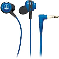 Audio Technica ATH-COR150BL In-Ear 3.5mm Wired Earbuds Headphones (Blue)