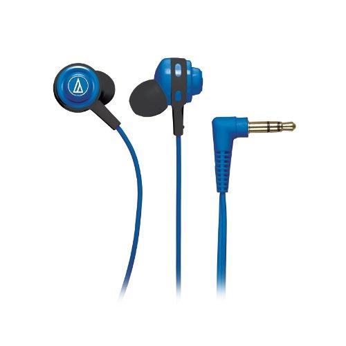 Audio Technica Athcor150Bl In-Ear Headphones, Blue