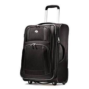 American Tourister Luggage Ilite Supreme 25 Inch Upright Suitcase, Black, 25 Inch