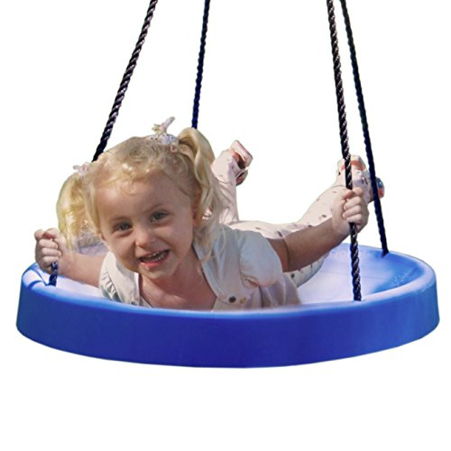 Discover Bargain Super Spinner® Swing, FUN! Easy Install for Swing Set or Tree, Best Swing on the P...