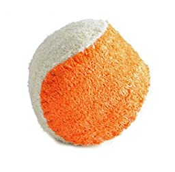 Colorfulhouse® Dog Chew Balls, Natural Loofah Dog Chew Toys for Small Dogs