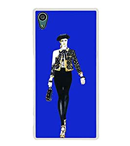 Girl on Ramp 2D Hard Polycarbonate Designer Back Case Cover for Sony Xperia Z5 :: Sony Xperia Z5 Dual